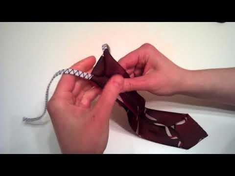 Как завязать кадетский галстук