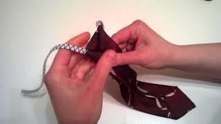 Краватка на резинці. Вчимося зав'язувати. Як легко і швидко зав'язати краватку Вчимося