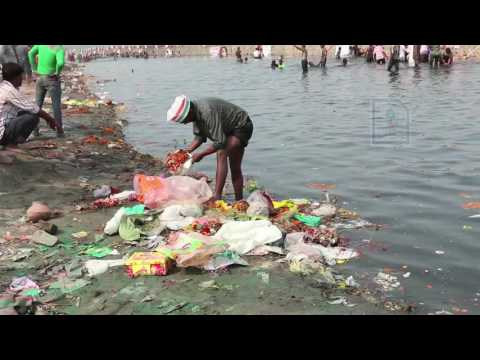 A River about to Die: Yamuna