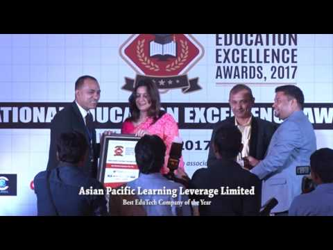 National Education Excellence Awards. 2017 - Asian Pacific Learning Leverage Limited