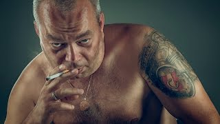How to create grungy mobster look in Photoshop CC