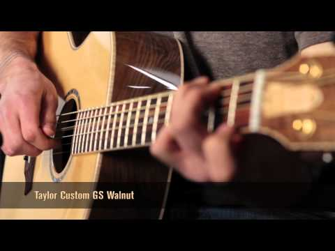 Taylor Custom GS Walnut Acoustic Guitar Review