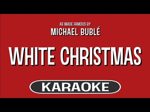 White Christmas - Michael Buble feat. Shania Twain | Karaoke Version