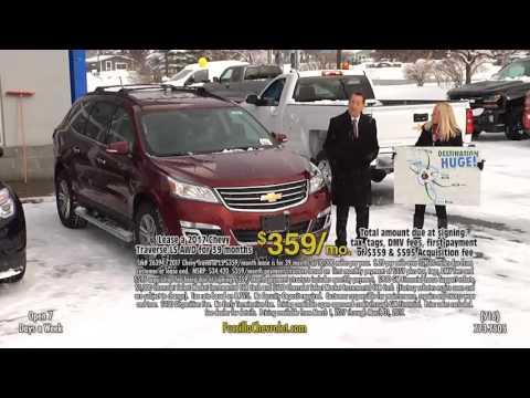 March 17 Chevy Traverse Lease Special - Fuccillo Chevrolet