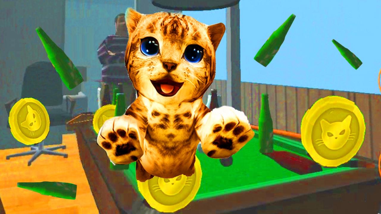 Игра симулятор кота смотреть