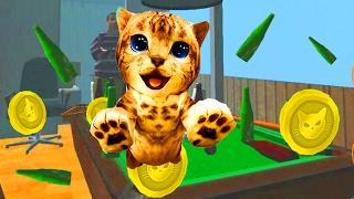 Играем в СИМУЛЯТОР КОТА 🐱🐱🐱 #12 мульт-игра про котят развлекательное видео