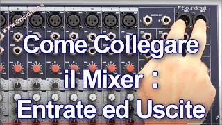 Come collegare il Mixer Audio
