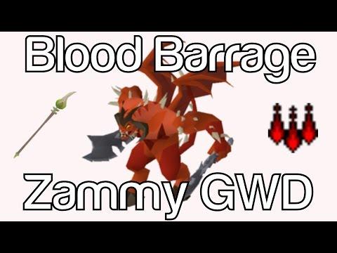 Blood Barraging Zammy GWD | 7-10+ Kill Solo Trips