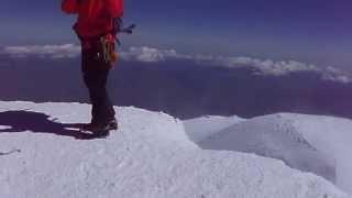 エルブルース登頂(The summit of Mt. Elbrus)