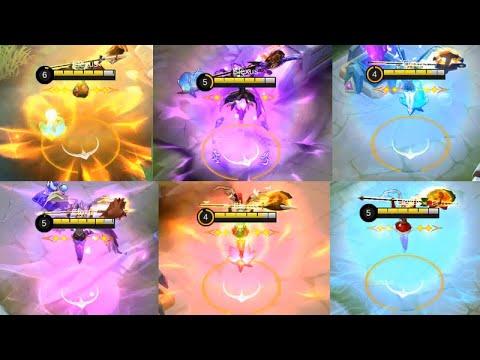 ALL FREYA REWORK SKIN New Skill Effect (Basic - Elite - Starlight - Special - Epic) - Mobile Legends