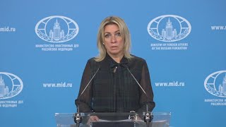 ЕС ОХРЕНЕЛИ! Захарова ПРЕДУПРЕДИЛА Запад об ОТВЕТЕ России на НОВЫЕ САНКЦИИ