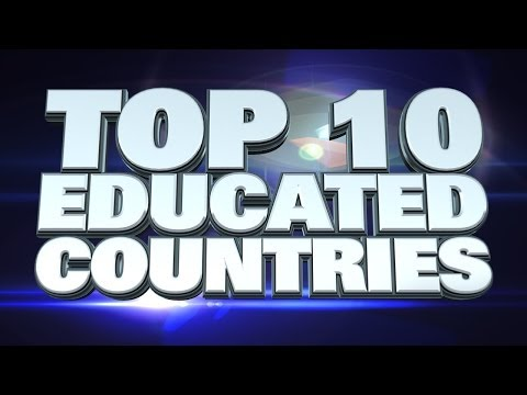 10 Most Educated Countries in the World 2014