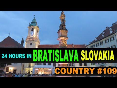 A Tourist's Guide to Bratislava, Slovakia