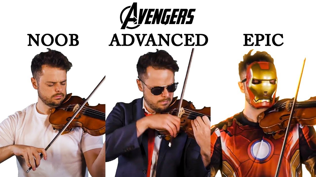 5 Levels of The Avengers Theme: Noob to Epic