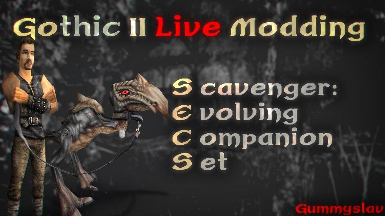 Głód i agresja II [Gothic 2: SECS Mod #10]