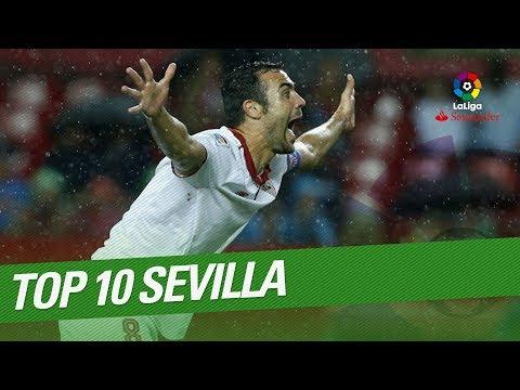 TOP 10 Goals Sevilla FC LaLiga Santander 2016/2017