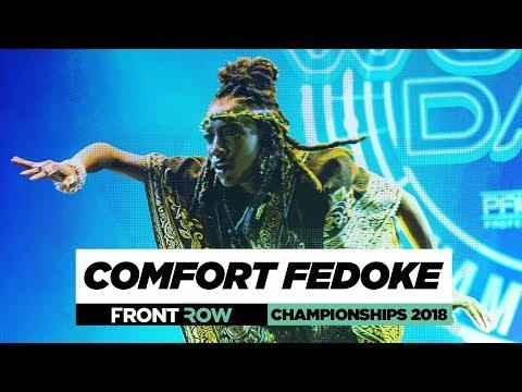 Comfort Fedoke  FrontRow  World of Dance Championships 2018  WODCHAMPS18