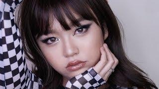 블랙앤골드 스모키 메이크업 // Black&Gold Smokey Makeup
