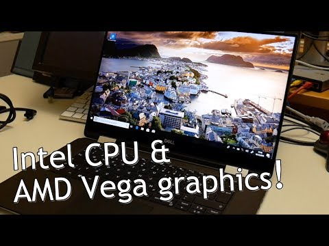 Dell XPS 15 9575 2-in-1 W/ AMD Vega M Unboxing And Linux Test!