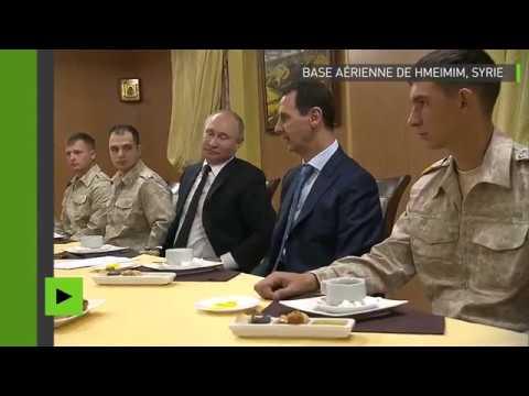 Download Youtube: Poutine et Assad s'entretiennent sur la base de Hmeimim