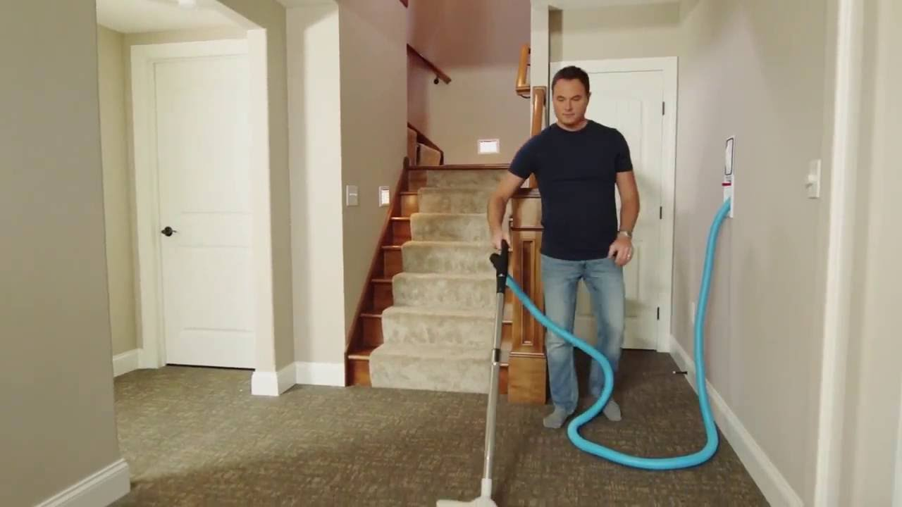 Hide A Hose Retractable Hose System For Central Vacuums