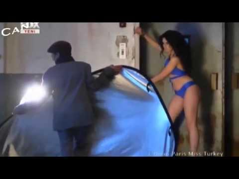 Miss Turkey 2011 Shooting Top 13 Frikik Bu Frikik - YouTube