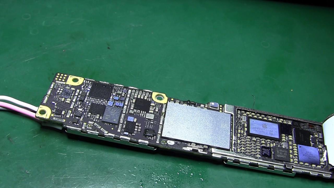 после замены аккумулятора iphone 6 не включается