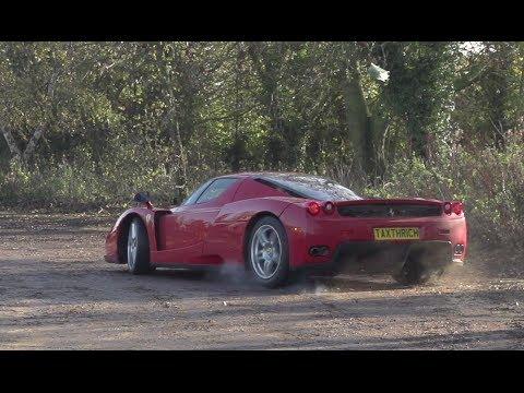 Ferrari Enzo in motion - Ferrari Enzo Drifting