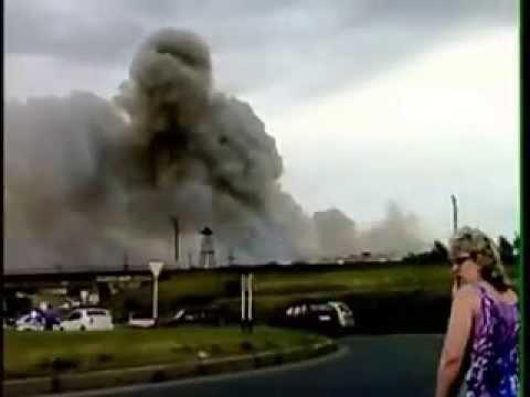 Очевидцы взрыва на полигоне в Чапаевске