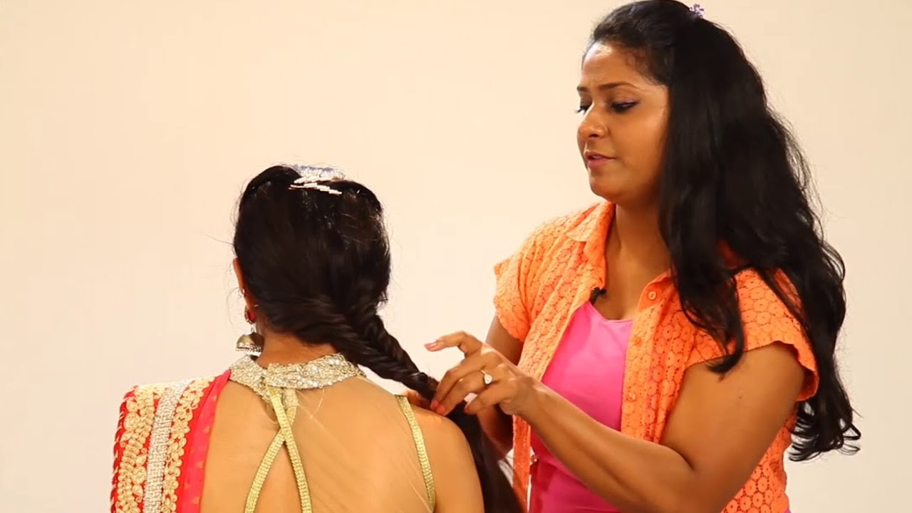www indian hair style simple indian hairstyle step by step hairstyle for indian 4207
