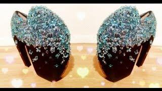 ♡ D.I.Y Alexander McQueen armadillo heels tutorial (Lady Gaga shoes) ♡