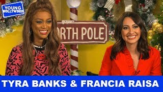 Life-Size 2's Tyra Banks & Francia Raisa Talk Crazy Behind The Scenes Mishaps!