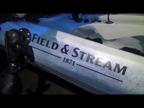 Field And Stream Eagle Talon 12 Fishfinder Install Overview