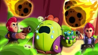 I thought 'meteor shower' was supposed to stop teaming in showdown.. // Brawl Stars thumbnail