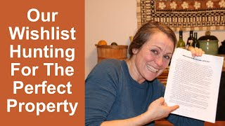 Our Wishlist-Hunting for The Perfect Permaculture Homesteading Property