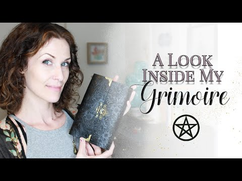 A Look Inside My Grimoire (Book Of Shadows) | #WitchBabyWednesdays
