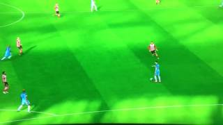 Southampton 1-0 Man City Redmond's goal