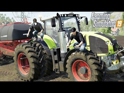 CLAAS AXION 960 - Nowy Ciągnik. #87 Felsbrunn ☆ Farming Simulator 19 MP ☆ ㋡ Anton