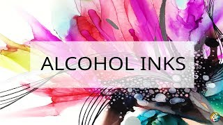 Video alcohol inks + line art abstract on yupo paper revisited download MP3, 3GP, MP4, WEBM, AVI, FLV Agustus 2018