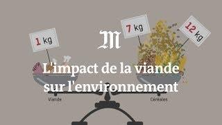 L'impact de la viande sur l'environnement expliqué en 4 minutes