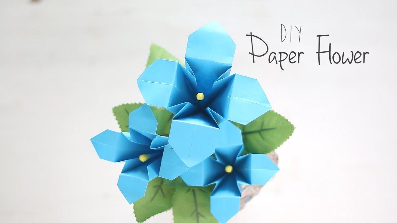 выделениях влагалища незабудка оригами из цветной бумаги пошагово расположен