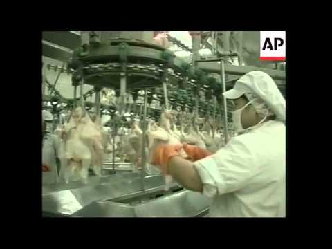 Impact of bird flu on Thai economy
