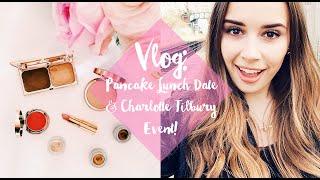 VLOG: Pancake Lunch Date & Charlotte Tilbury Event!   Hello October