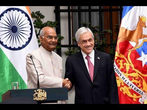 President Kovind's Press Statement with President Pinera of Chile