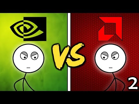 NVIDIA Gamers VS AMD Gamers (Here We Go Again)
