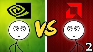 Nvidia Gamers Vs Amd Gamers Here We Go Again