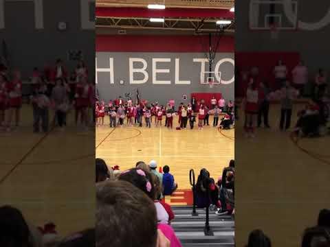 School pep rally-North belton middle school