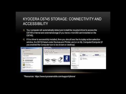 Kyocera C6745: Computer Connectivity and Accessibility