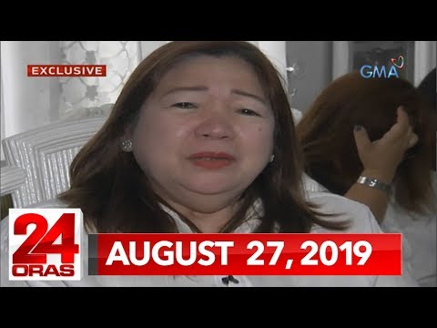 24 Oras: Dating DOH Sec. Janette Garin at iba pa, muling kinasuhan... from YouTube · Duration:  45 seconds