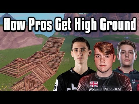 How Pro Players Retake High Ground! - Fortnite Battle Royale
